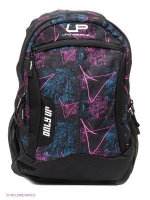 Рюкзак UFO PEOPLE. Цвет: черный, фиолетовый
