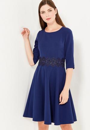 Платье Fileo. Цвет: синий