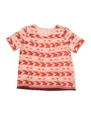 Блузка SCOTCH R'BELLE. Цвет: телесный