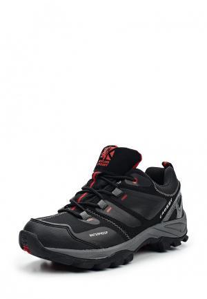 Ботинки трекинговые Crosby. Цвет: черный