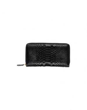 Бумажник AZZURRA GRONCHI. Цвет: черный