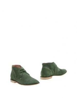 Полусапоги и высокие ботинки MANILA GRACE. Цвет: зеленый