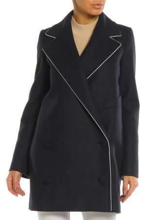 Пальто Stella McCartney. Цвет: темно-синий