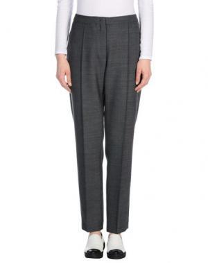 Повседневные брюки NATAN. Цвет: свинцово-серый
