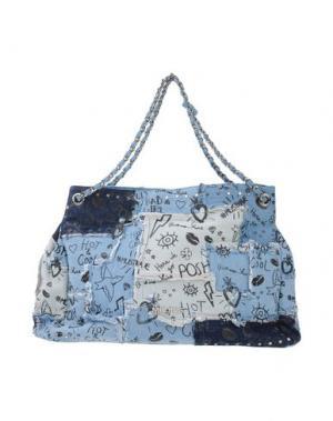 Сумка на плечо MIA BAG. Цвет: синий