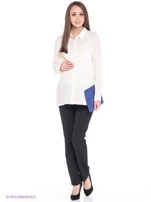 Брюки для беременных ФЭСТ. Цвет: черный