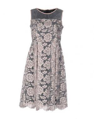 Платье до колена CHIARA D'ESTE. Цвет: светло-розовый