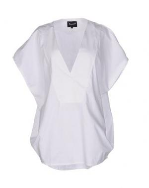 Блузка NUMERO 00. Цвет: белый