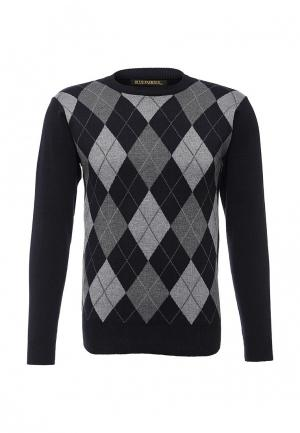 Джемпер Blue Fashion. Цвет: черно-белый