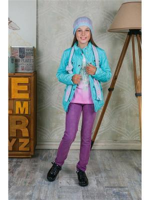 Куртка Luminoso. Цвет: бирюзовый