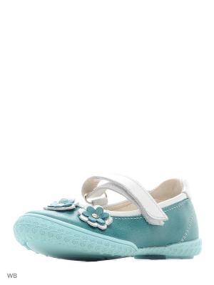 Туфли Детский скороход. Цвет: морская волна