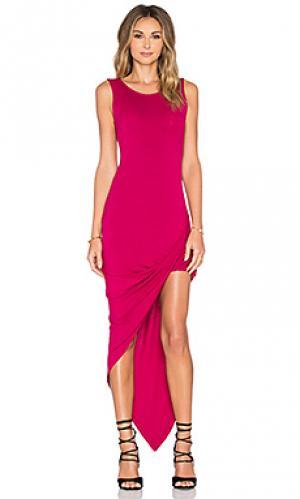 Платье dawn De Lacy. Цвет: фуксия