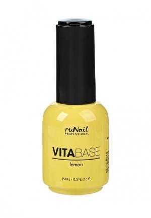 Базовое покрытие Runail Professional. Цвет: желтый