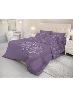 Комплект постельго белья Волшебная ночь Евро 50*70 Royal Mark. Цвет: фиолетовый, синий