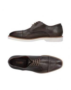 Обувь на шнурках FRANCESCHETTI. Цвет: темно-зеленый