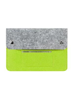 Чехол фетровый для планшета 8 дюймов IQ Format. Цвет: зеленый
