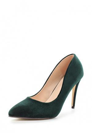 Туфли Ideal Shoes. Цвет: зеленый