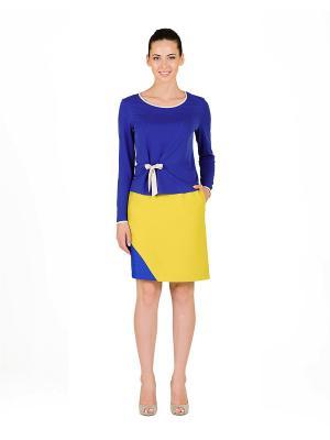 Блуза D.VA. Цвет: синий