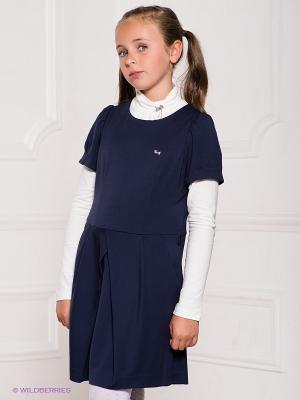 Платье SILVER SPOON. Цвет: темно-синий