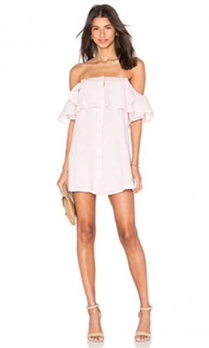 Платье norval Privacy Please. Цвет: розовый