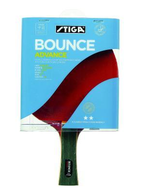 Ракетка для настольного тенниса BOUNCE ADVANCE (1688-01) Stiga. Цвет: красный