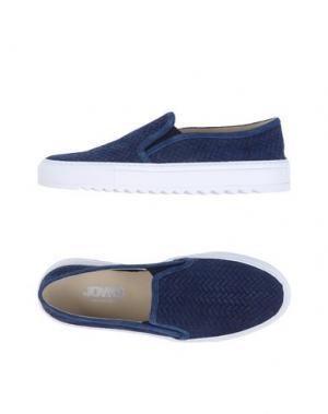 Низкие кеды и кроссовки JOYKS. Цвет: темно-синий