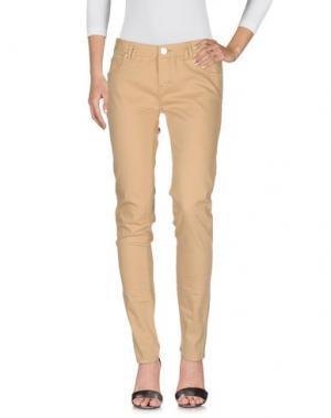 Джинсовые брюки MORGAN DE TOI. Цвет: бежевый