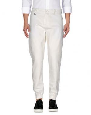 Джинсовые брюки PUBLISH. Цвет: белый