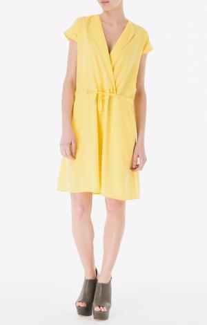 Платье Желтое YETONADO