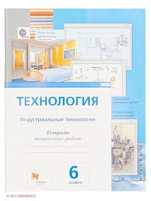 Технология. Индустриальные технологии. 6 кл. Рабочая тетрадь. Издание. 3 Вентана-Граф. Цвет: белый