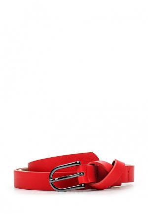 Ремень United Colors of Benetton. Цвет: красный