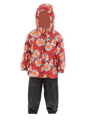 Комплект одежды REIKE. Цвет: красный