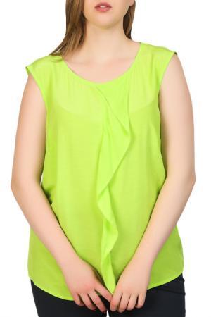 Блуза Apanage. Цвет: apfelgruen