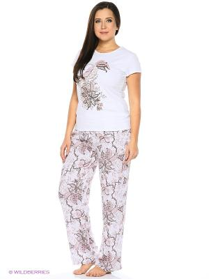 Пижама Infinity Lingerie. Цвет: белый, бежевый