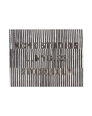 Шкатулка для украшений ACNE STUDIOS. Цвет: черный