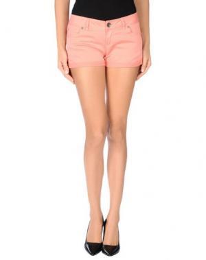 Повседневные шорты TIMEOUT. Цвет: лососево-розовый