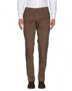 Повседневные брюки DRYKORN. Цвет: хаки