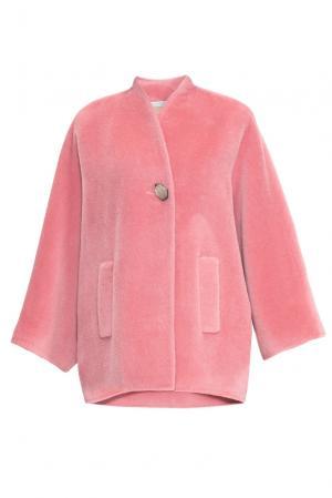 Полупальто 152590 Mia Blanca. Цвет: розовый