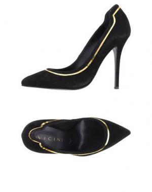 Туфли VICINI. Цвет: черный