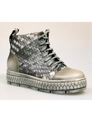 Ботинки женские Avenir PREMIUM. Цвет: серый