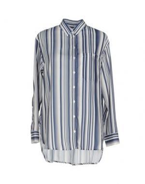 Pубашка WON HUNDRED. Цвет: синий