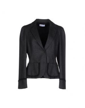 Пиджак REDValentino. Цвет: стальной серый