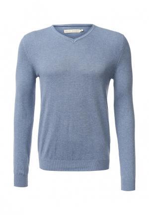 Пуловер Celio. Цвет: голубой