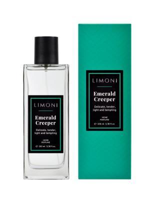 Парфюмерная вода для дома Изумрудная Лиана Emerald Creeper 100 мл. Limoni. Цвет: прозрачный