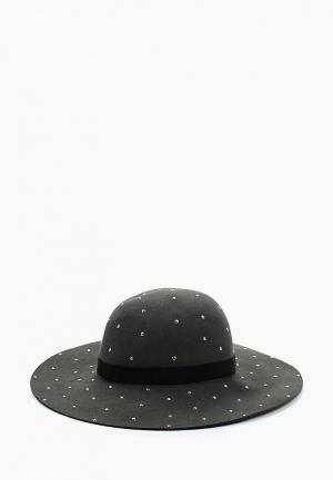 Шляпа Moltini. Цвет: зеленый
