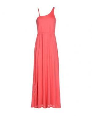 Длинное платье SITA MURT/. Цвет: коралловый