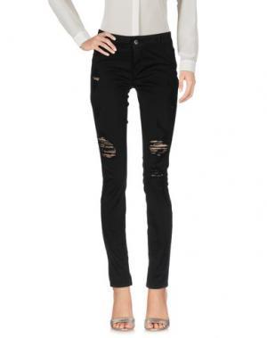 Повседневные брюки MET & FRIENDS. Цвет: черный