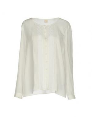 Pубашка DES PETITS HAUTS. Цвет: белый
