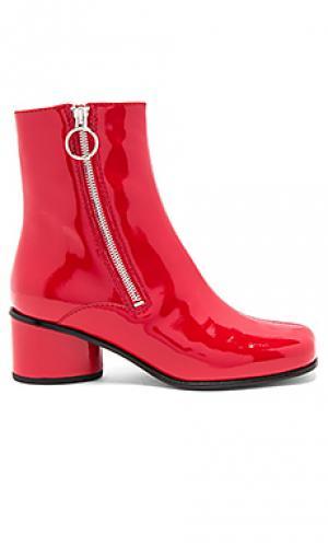 Ботильоны crawford Marc Jacobs. Цвет: красный