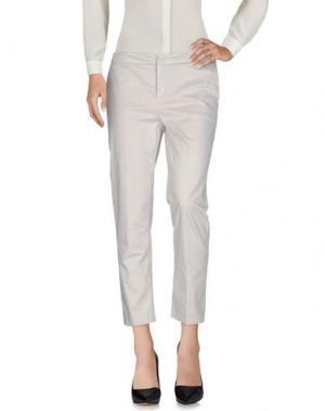 Повседневные брюки SONIA DE NISCO. Цвет: светло-серый